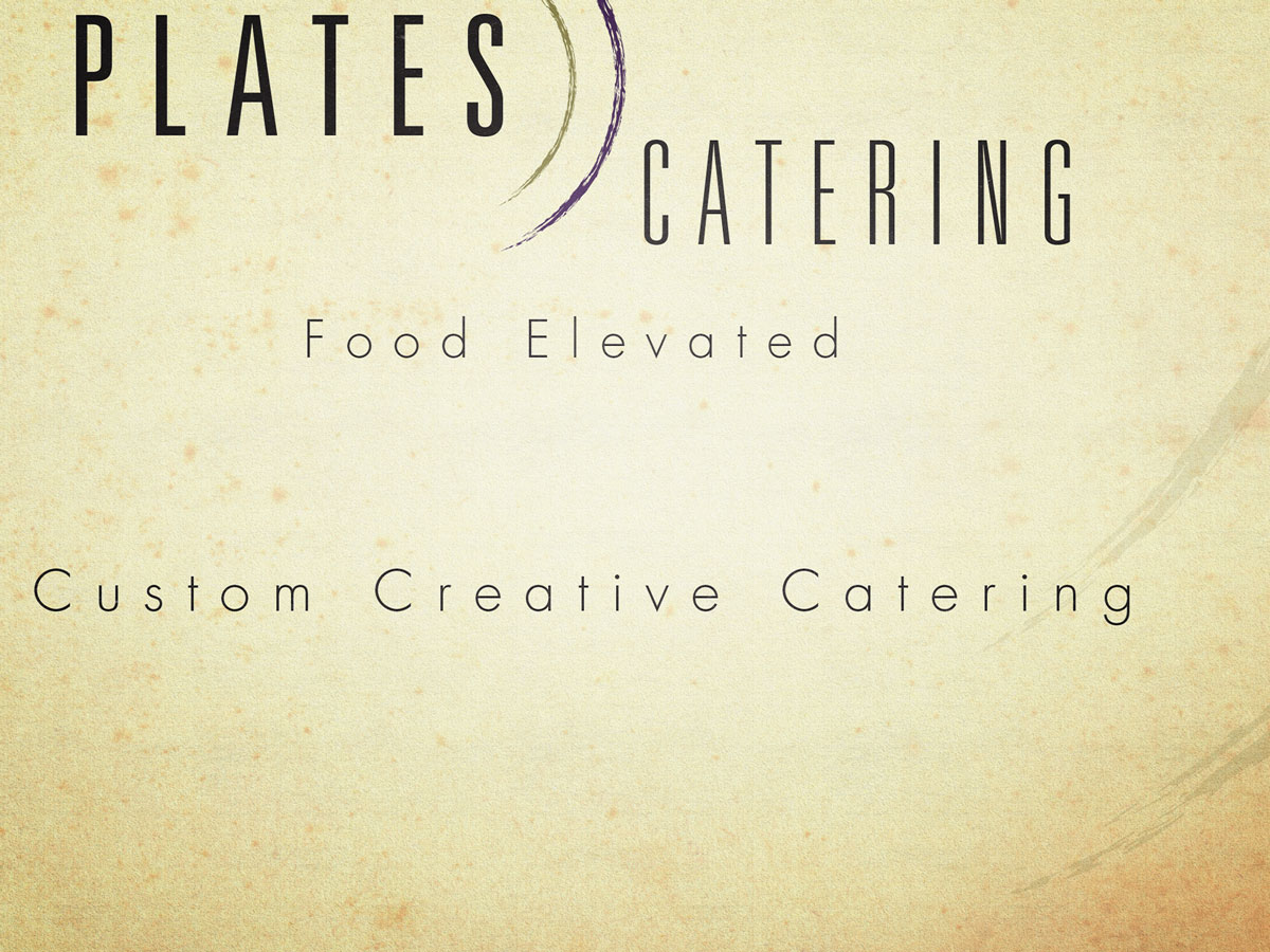 Plates Catering Logo
